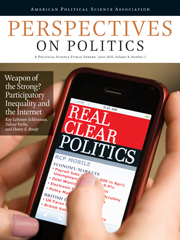 Perspectives on Politics Volume 8 - Issue 2 -
