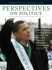Perspectives on Politics Volume 8 - Issue 3 -