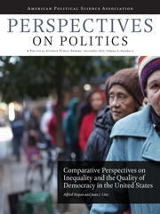 Perspectives on Politics Volume 9 - Issue 4 -