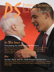 PS: Political Science & Politics Volume 41 - Issue 4 -