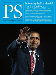 PS: Political Science & Politics Volume 42 - Issue 1 -