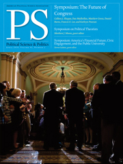PS: Political Science & Politics Volume 43 - Issue 2 -