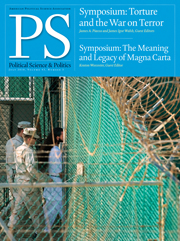 PS: Political Science & Politics Volume 43 - Issue 3 -