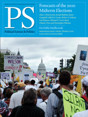 PS: Political Science & Politics Volume 43 - Issue 4 -