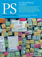 PS: Political Science & Politics Volume 44 - Issue 4 -
