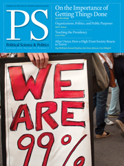 PS: Political Science & Politics Volume 45 - Issue 1 -