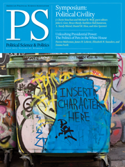 PS: Political Science & Politics Volume 45 - Issue 3 -