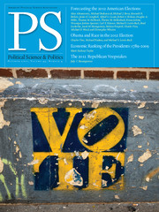 PS: Political Science & Politics Volume 45 - Issue 4 -