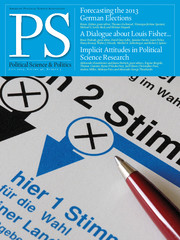 PS: Political Science & Politics Volume 46 - Issue 3 -