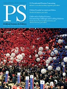 PS: Political Science & Politics Volume 47 - Issue 2 -