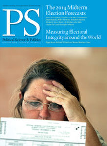 PS: Political Science & Politics Volume 47 - Issue 4 -