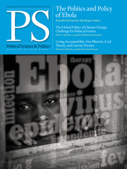 PS: Political Science & Politics Volume 48 - Issue 1 -