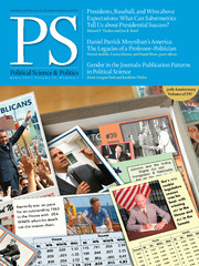 PS: Political Science & Politics Volume 50 - Issue 2 -
