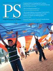 PS: Political Science & Politics Volume 51 - Issue 2 -