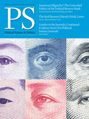 PS: Political Science & Politics Volume 51 - Issue 4 -