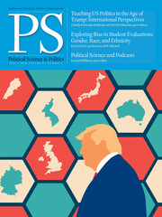 PS: Political Science & Politics Volume 53 - Issue 2 -