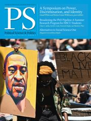PS: Political Science & Politics Volume 53 - Issue 4 -