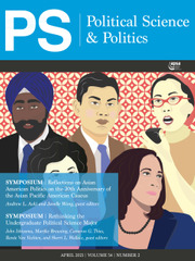 PS: Political Science & Politics Volume 54 - Issue 2 -
