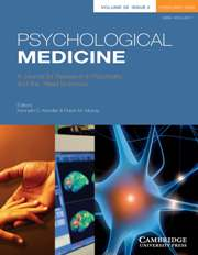Psychological Medicine Volume 38 - Issue 2 -