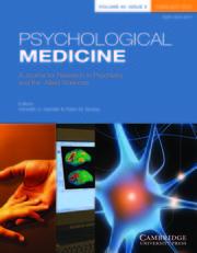 Psychological Medicine Volume 49 - Issue 3 -