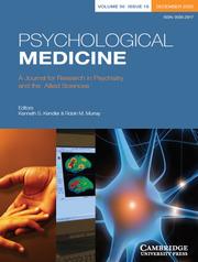 Psychological Medicine Volume 50 - Issue 16 -