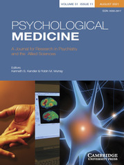 Psychological Medicine Volume 51 - Issue 11 -