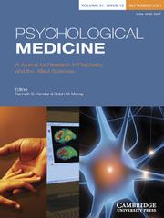 Psychological Medicine Volume 51 - Issue 12 -