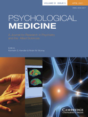 Psychological Medicine Volume 51 - Issue 5 -