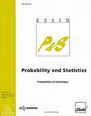 ESAIM: Probability and Statistics Volume 16 - Issue  -
