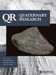 Quaternary Research Volume 101 - Issue  -