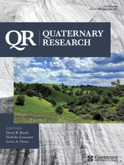 Quaternary Research Volume 103 - Issue  -