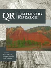 Quaternary Research Volume 89 - Issue 3 -  INQUA LoessFest 2016