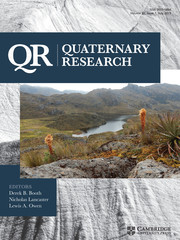 Quaternary Research Volume 92 - Issue 1 -