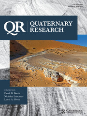 Quaternary Research Volume 95 - Issue  -