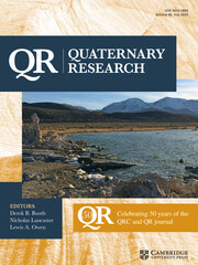Quaternary Research Volume 96 - Issue  -