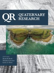 Quaternary Research Volume 97 - Issue  -
