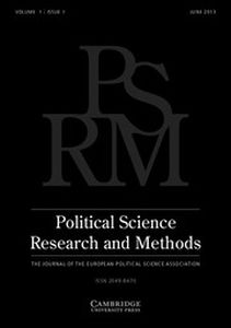 Political Science Research and Methods Volume 1 - Issue 1 -