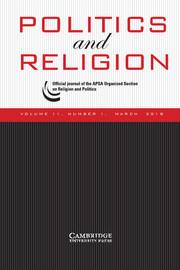 Politics and Religion Volume 11 - Issue 1 -