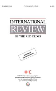 International Review of the Red Cross (1961 - 1997)