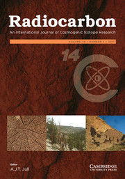 Radiocarbon Volume 59 - Issue 4 -