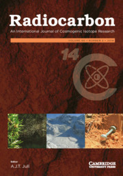 Radiocarbon Volume 60 - Issue 2 -