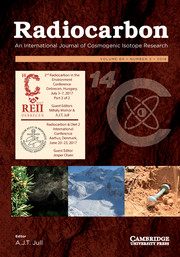 Radiocarbon Volume 60 - Special Issue5 -  2nd Radiocarbon in the Environment Conference, Debrecen, Hungary, July 3–7, 2017 Part 2 of 2 and Radiocarbon & Diet 2 International Conference Aarhus, Denmark, June 20–23, 2017