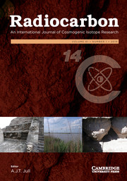 Radiocarbon Volume 61 - Issue 1 -