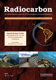 Radiocarbon Volume 63 - Issue 4 -  Featuring: CLARa Proceedings of the 1st Latin American Radiocarbon Conference