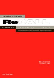 ReCALL Volume 29 - Issue 3 -