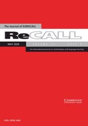 ReCALL Volume 32 - Issue 2 -