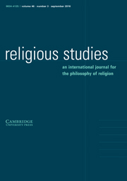 Religious Studies Volume 46 - Issue 3 -