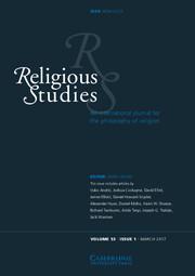 Religious Studies Volume 53 - Issue 1 -