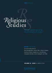 Religious Studies Volume 54 - Issue 1 -