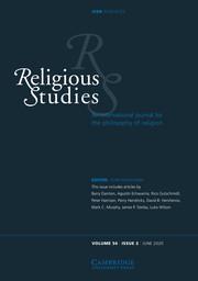 Religious Studies Volume 56 - Issue 2 -